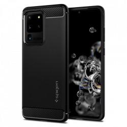 Husa Samsung Galaxy S20 Ultra - Spigen Rugged Armor -Neagra