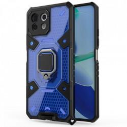 Husa Xiaomi Mi 11 Lite - Honeycomb Armor- Blue