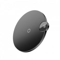 Încărcător Wireless Baseus cu Display-Negru