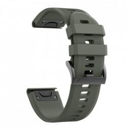 Curea Garmin Fenix 6 PRO -Tech Protect Smooth-Army Green
