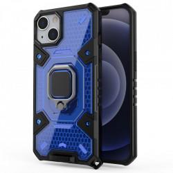 Husa Apple iPhone 13 - Honeycomb Armor- Blue