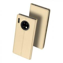 Husa Huawei Mate 30 Pro-Dux Ducis Skin Pro Bookcase- Golden