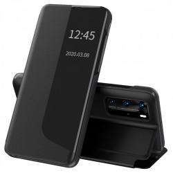 Husa Huawei P40 PRO -Eco Leather View Case-Neagra