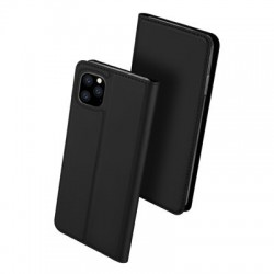 Husa Iphone 11 PRO MAX -Dux Ducis Skin Pro Bookcase-Neagra