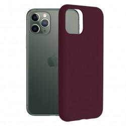 Husa iPhone 11 Pro Max-Soft Edge Silicone Plum
