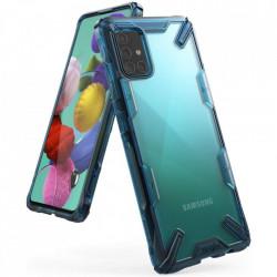 Husa Samsung Galaxy A51- Ringke Fusion X- Space Blue