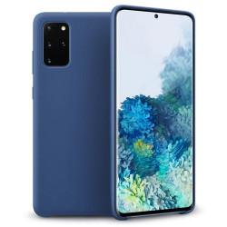Husa Samsung Galaxy S20 Plus- Silicone Case -Albastra