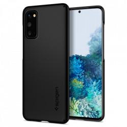 Husa Samsung Galaxy S20- Spigen Thin Fit -Black