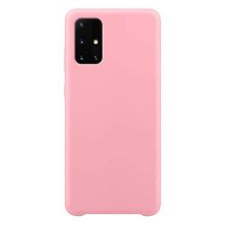 Husa Samsung Galaxy S21 Ultra 5G - Silicone Case - roz