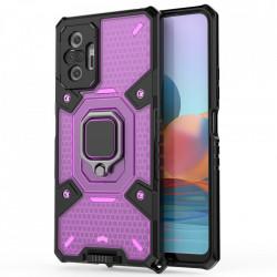 Husa Xiaomi Redmi Note 10 Pro - Honeycomb Armor- Rose Violet