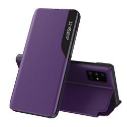 Husa Xiaomi Redmi Note 10/Xiaomi Redmi Note 10s -Eco Leather View Case-Purple