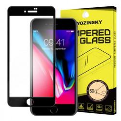 Sticla securizata IPHONE 8/IPHONE 7/SE 2020-Wozinsky PRO + 5D Full Glue ( margini negre)