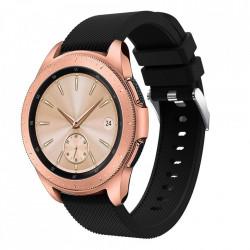 Curea Samsung Galaxy Watch 42MM-Tech Protect Smoothband-Black