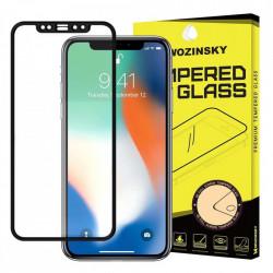 Folie sticla securizata Iphone 12 PRO /Iphone 12 - Wozinsky Full Glue , Full Coveraged- margine neagra