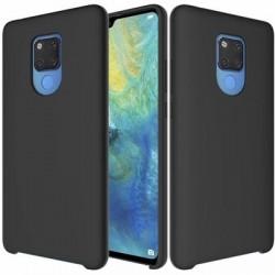 Husa Huawei Mate 20 - Silicone Case Soft Flexible Rubber Cover-Neagra