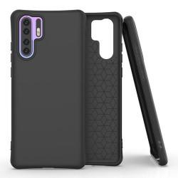 Husa Huawei P30 PRO -Soft Color Case flexible gel-neagra
