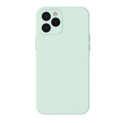Husa Iphone 12 PRO MAX- Baseus Silica Gel - Mint Green