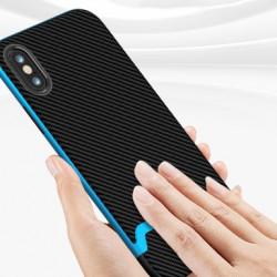 Husa iPhone XS Max- iPaky Bumblebee Neo Hybrid cu rama albastra