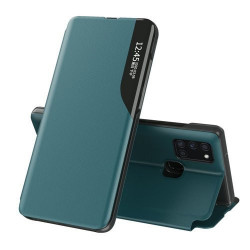 Husa Samsung Galaxy A21s -Eco Leather View Case-Verde