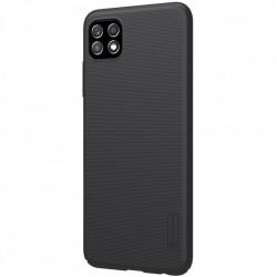 Husa Samsung Galaxy A22 5G -Nillkin Super Frosted Shield Case Neagra