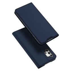 Husa Samsung Galaxy A32-Dux Ducis Skin Pro Bookcase-Navy Blue