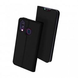 Husa Samsung Galaxy A40 -Dux Ducis Skin Pro Bookcase-Neagra