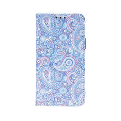 Husa Samsung Galaxy A51- Book Case Mandala Blue