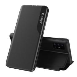 Husa Samsung Galaxy A51 -Eco Leather View Case-Black