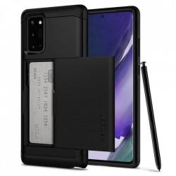 Husa Samsung Galaxy Note 20 -Spigen Slim Armor CS Neagra
