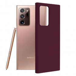 Husa Samsung Galaxy Note 20 Ultra -Soft Edge Silicone Plum
