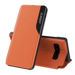 Husa Samsung Galaxy S10-Eco Leather View Case-Orange