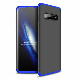 Husa Samsung Galaxy S10-GKK - Negru cu albastru