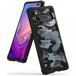 Husa Samsung Galaxy S10 Plus - Ringke Fusion X- Camo Black
