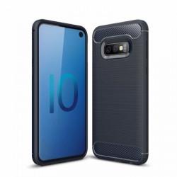 Husa Samsung Galaxy S10e Carbon Series albastra