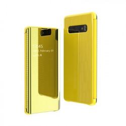 Husa Samsung Galaxy S10e-Flip View -Yellow