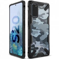 Husa Samsung Galaxy S20- Ringke Fusion X- Camo Black