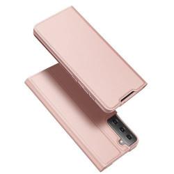 Husa Samsung Galaxy S21 -Dux Ducis Skin Pro Bookcase-Pink