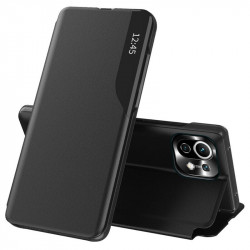 Husa Xiaomi Mi 11 Lite -Eco Leather View Case-Black