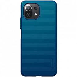 Husa Xiaomi Mi 11 Lite -Nillkin Super Frosted Shield Case Albastra