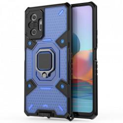 Husa Xiaomi Redmi Note 10 Pro - Honeycomb Armor- Blue