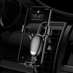 Suport auto pentru telefon Baseus Mini Gravity-Black