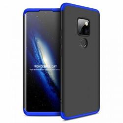 Husa Huawei Mate 20 -GKK -Neagra cu albastru