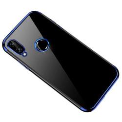 Husa Huawei P Smart 2019-Clear Color case gel-Margine Albastra