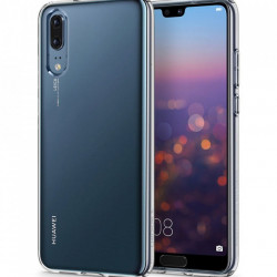 Husa Huawei P20 -Spigen Liquid Crystal -Crystal Clear