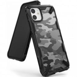Husa Iphone 11 - Ringke Fusion X- Camo Black