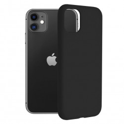 Husa iPhone 11 -Soft Edge Silicone Neagra