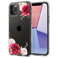 Husa Iphone 12- Spigen Cyrill Cecile -Red Floral