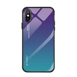 Husa Iphone 7/8 PLUS -Gradient Glass Durable Cover din sticla securizata 9H