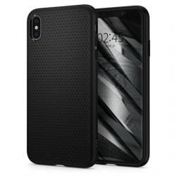 Husa Iphone X/Iphone XS -Spigen Liquid Air- Negru mat
