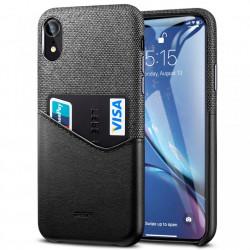 Husa Iphone XR -ESR Metro Wallet- Negru/Gri